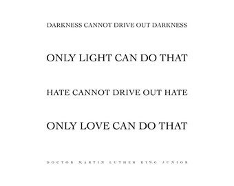 Martin Luther King Love Quote