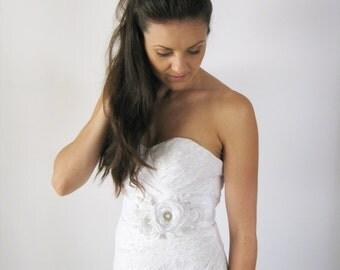 Bridal Sash. Bridal Gown Sash.Wedding Dress Sash.