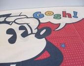 Mickey Mouse pillowcase pop art bedding Disney collectible kid's room decor