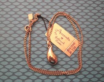 MINT Vintage Accents by Hallmark Teardrop Necklace