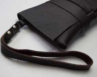 LEATHER HANDLE for your clutch