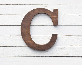 Letter C For Wall Decorative Letters  Etsy