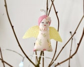 SALE 50% OFF Handmade teeny weeny Christmas Angel ornament / decoration