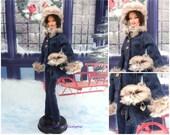 winter dress for barbie doll