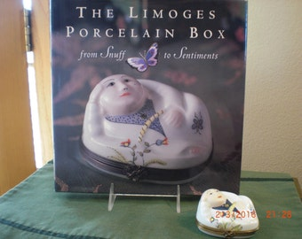 Buddha  Rochard Limoges box and Limoges coffee table book