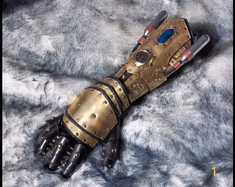 Customized Steampunk Gauntlet (Materials Deposit)