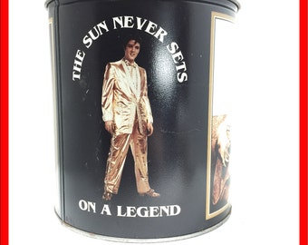Elvis Presley Commemorative Tin Celebrating a Legend