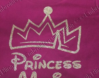 Princess - Prince shirt with name