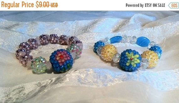 20% OFF Back2SchoolSale Color Crazy Bracelets With Basketball Wives Beads