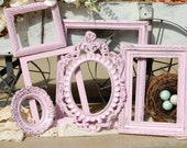 Picture Frame Set -  Picture Frame Collection -  Set Of 6  Shabby Chic Frames