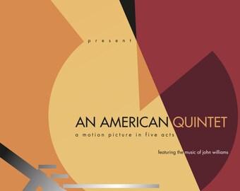 An American Quintet - POSTER - original size