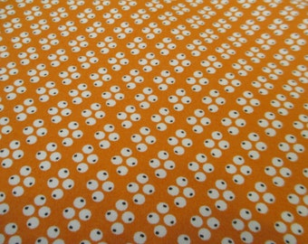 Quilting Weight Cotton Fabric by Denyse Schmidt for Free Spirit Florence Four Dots in Carnelian 1 yard