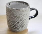 A smooth mug, 8 oz. ,stoneware mug