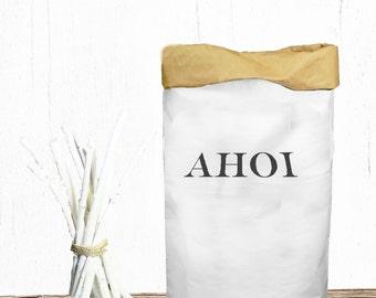 Paperbag printed AHOI Toys Box