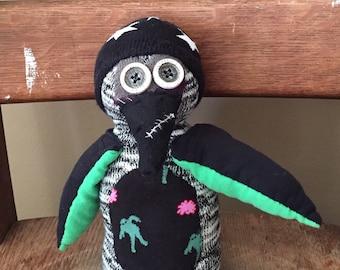 Sock Zombie Penguin