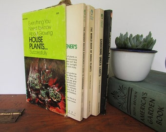 Growing House Plants Books Boxed Set