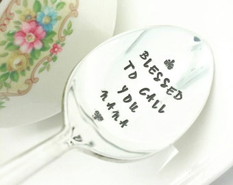 Gift for Nana, Blessed to Call You Nana Spoon, Spoon for Nana, For Nana From Kids