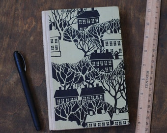 "Lined Notebook Tartuensis Classic ""Small Town"" Recycled Book Journal"