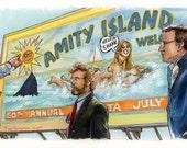 """Jaws - Sick Vandalism 5""""x11"""" Poster Print"""