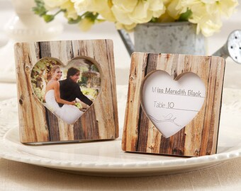 Rustic Placecard Holders (Set of 15), Rustic Wedding Decorations, Bridal Shower Decorations, Placecard Holders