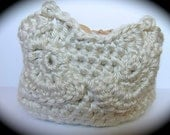 Crocheted Small Owl Basket