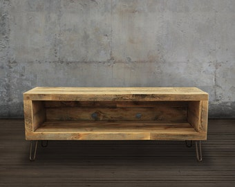 Reclaimed Wood Media Console / TV Stand, 48""