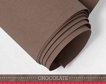 Kraft-Tex Paper Fabric 20291 in Chocolate by C&T Publishing