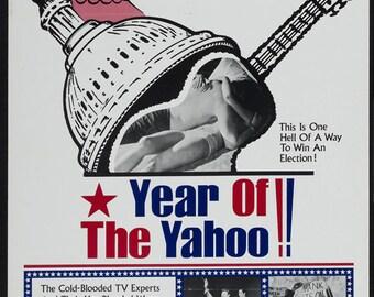 Vintage Original Movie Poster 1- sheet  Year of the Yahoo