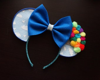 "Disney Pixar's ""Up"" Inspired Minnie Mouse Ears"