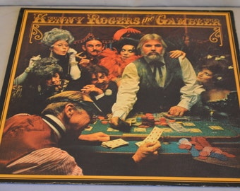Vintage Record Kenny Rogers: The Gamblers Album  LO-500934
