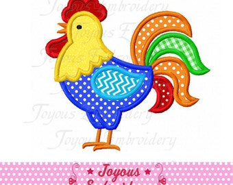 Instant Download Rooster Applique Machine Embroidery Design NO:2129
