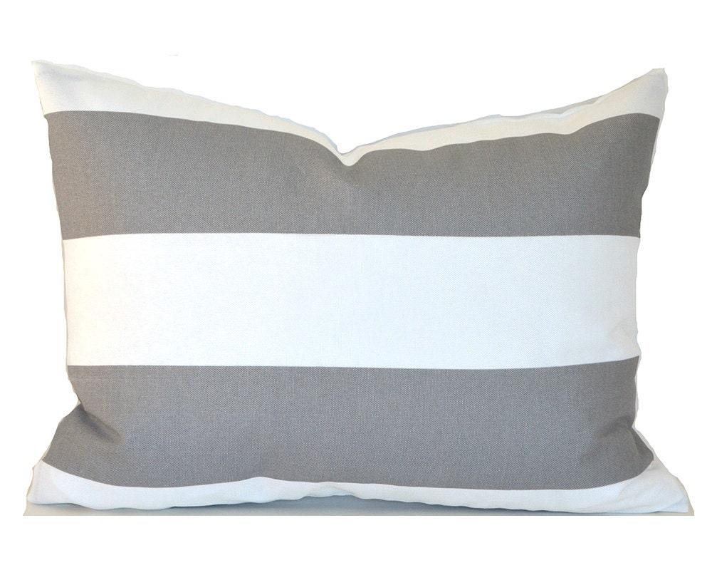 Indoor Outdoor Lumbar Pillow Cover ANY SIZE Decorative Pillow