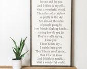 Wonderful World (Vertical)