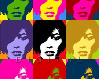 Custom Pop Art Portrait from Your Photo.