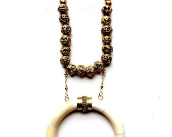 Temba Crescent Necklace