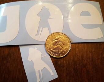 Joe - Vinyl Car Decal Vinyl Decal Joe Kwon Cello - Avett Brothers - Car Decal, Laptop Sticker, Window or Bumper Sticker