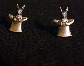 Rabbit in the Hat Earrings