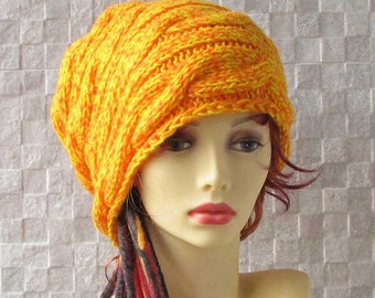 Hat Dreadlocks tam hat, dread beanie, dread accessory Dreadlocks Accessories, Slouchy Hat
