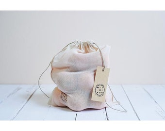 bag to bulk large in organic cotton voile