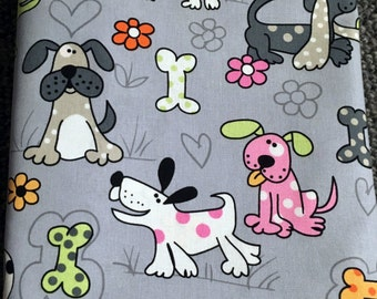 Timeless Treasures fabric - Doggies - So cute!