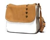 SALE Mini messenger bag, messenger purse, leather bag, leather purse, cross body bag, cross body purse, square shoulder bag, satchel