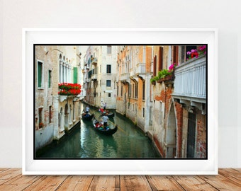 Gondola Wall Art Print, Venice Wall Art, Italy Wall Decor, Italian Art Print, Italy Wall Art, Venice Art Print, Digital Download