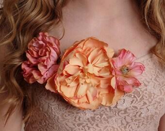 Floral Clip On - Item 237