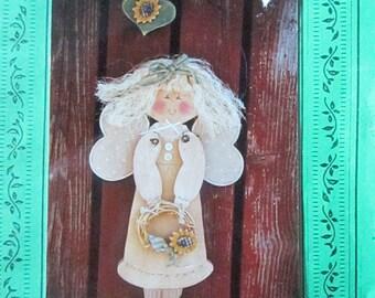 Andrea Wooden Angel pattern