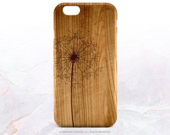 iPhone 7 Case Wood Dandelion iPhone 7 Plus iPhone 6s Case iPhone SE Case iPhone 6 Case iPhone 5S Case Galaxy S7 Case Galaxy S6 Case I50