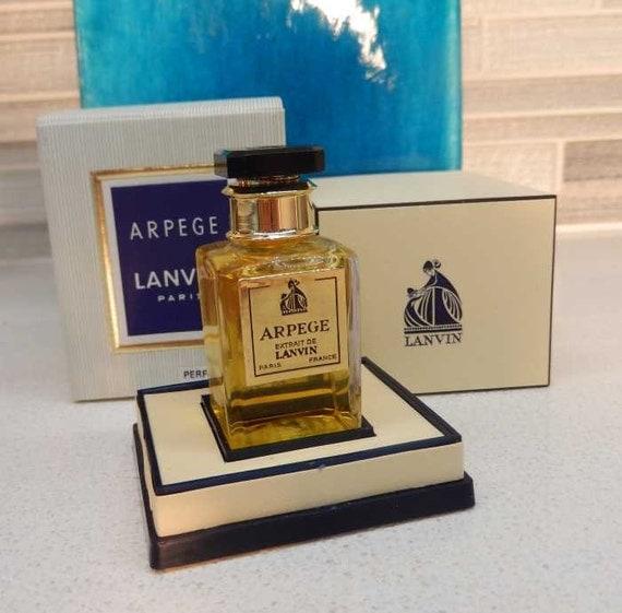 1970s Vintage Lanvin Arpege Perfume Extrait Sealed