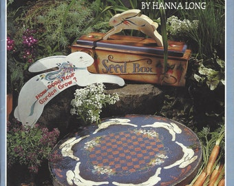 Country Favorites by Hanna Long Tole Painting Book FI0135