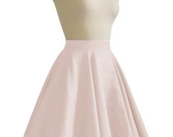JULIETTE Blush Rockabilly Swing Rock 'n Roll Skirt//Full Circle Black Skirt//Retro Mod 50s style Skirt//Party Skirt XXS-3X