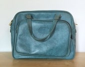 Retro Blue Bag