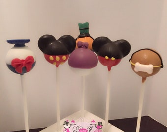 24 Micky miuse clubhouse cakepops